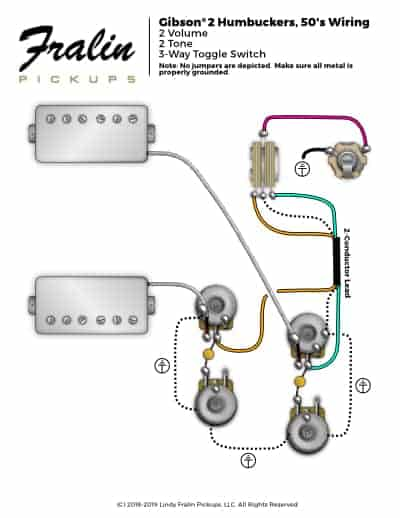 gibson 50 s wiring diagram ford trailer 7 way 50s mod schematic lindy fralin diagrams guitar and bass u0027s