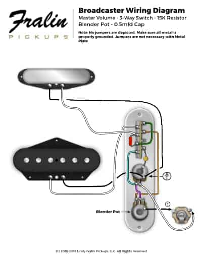 guitar 3 pickup wiring diagrams w124 e220 diagram lindy fralin and bass broadcaster telecaster with p90 neck pickups