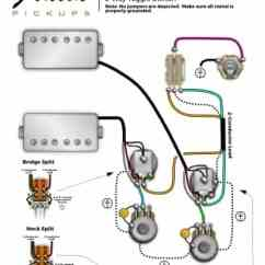 3 Pickup Les Paul Wiring Diagram Deciduous Forest Layers Lindy Fralin Diagrams Guitar And Bass Gibson With Coil Split