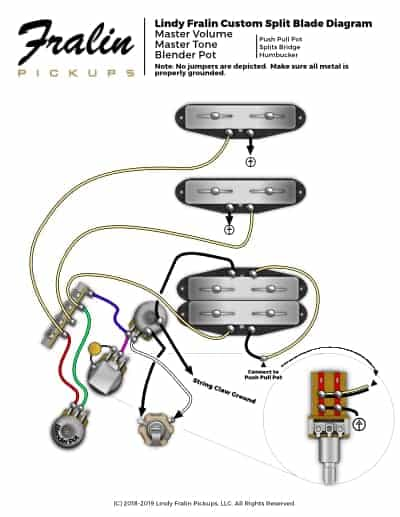 fender stratocaster wiring diagram hss for capacitor start fan motor lindy fralin diagrams guitar and bass split blade strat pickups