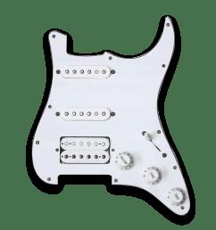 customizable prewired hss strat pickguard [ 1024 x 1024 Pixel ]