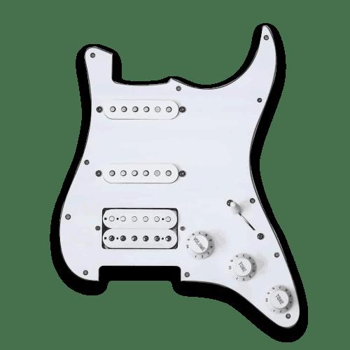 small resolution of customizable prewired hss strat pickguard