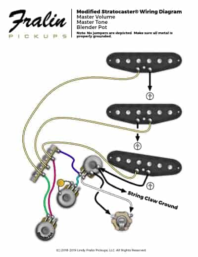 wiring diagramslindy fralin  guitar and bass wiring