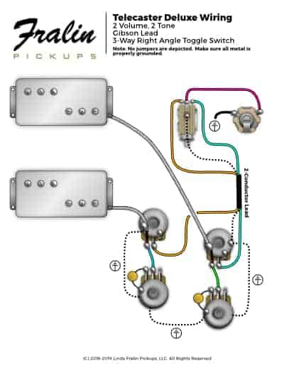 wiring diagram telecaster 1986 nissan pickup stereo lindy fralin diagrams guitar and bass deluxe