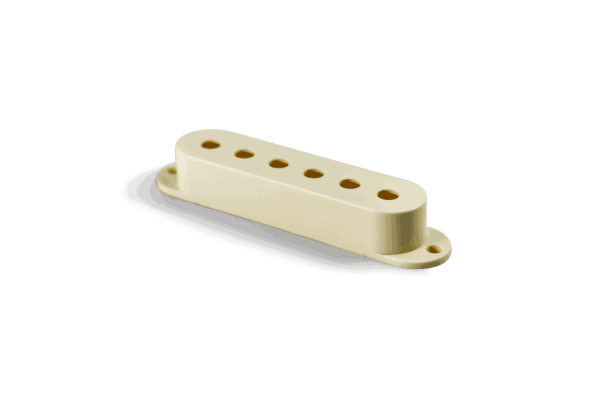 Fralin Aged White Strat Pickup Cover