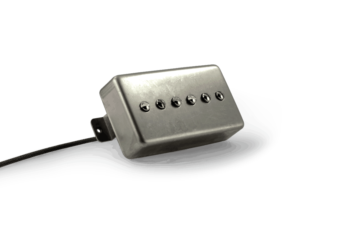 Fralin P90 In A Humbucker Cover  P90 Pickup  Humbucker Looks
