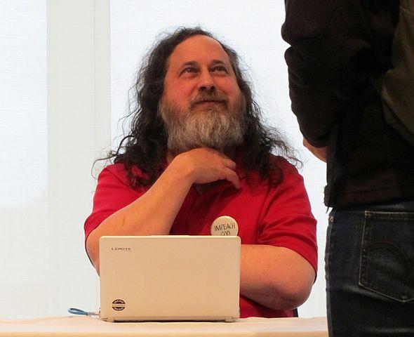 Richard Stallman - Melikamp - CC by-sa