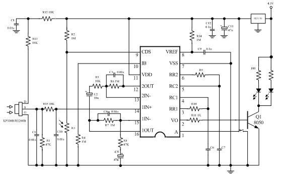 Module détecteur de présence infrarouge PIR HC-SR501