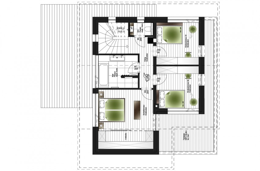 Planung und Umsetzung Einfamilienhaus Flachau : FRAME