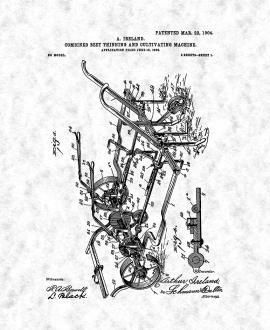 Farming Patent Prints