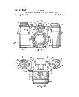 Colt AR-15 Semi-Automatic Rifle Patent Print : Frame a