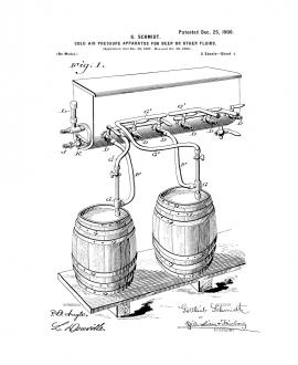 Brewing Beer And Ale Patent Print Poster Item#11355: Frame