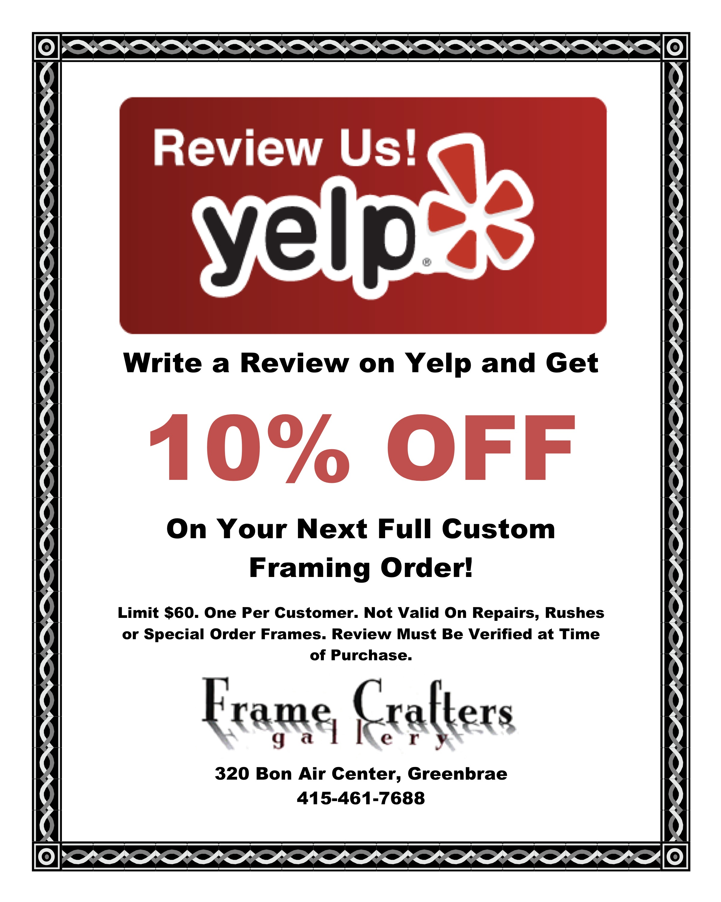 write a review on yelp Write lots of yelp reviews: if someone's account has obviously been made with the purpose of just reviewing one restaurant or business, that brings up some serious red flags for yelp the more reviews you write, the more authentic you seem at least 10 reviews will make you much less likely to sound the yelp review alarm.