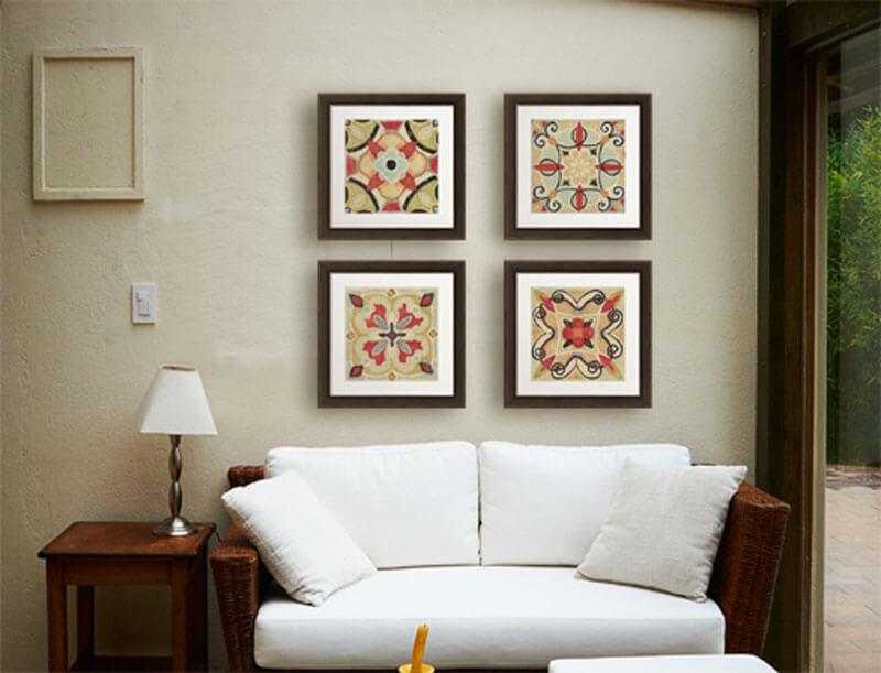 framed artwork for living room small modern chairs decorate with bohemian decor art trends and inspiration series