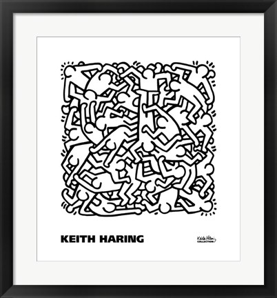 Party of Life Invitation, 1986 Painting by Keith Haring at
