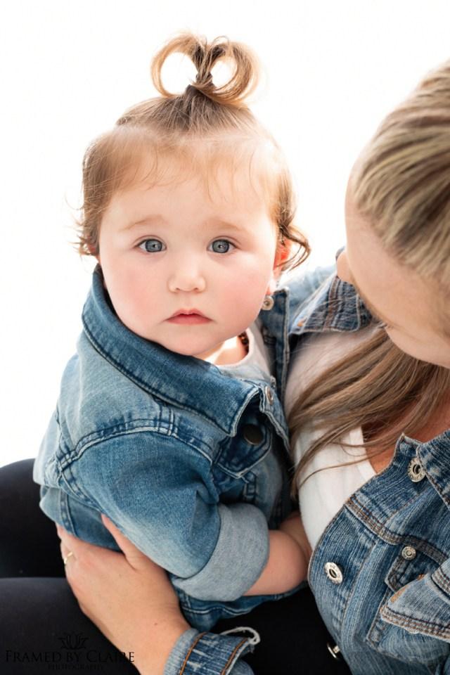 Mommy & Me studio shoot