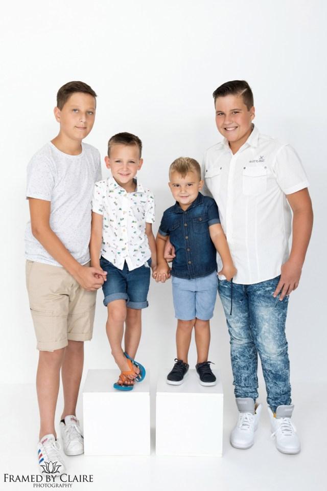 Sibling boys portraits