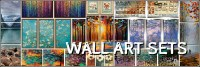 Wall Art Sets - Framed Canvas Art