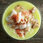 Pineapple Shrimp Gazpacho
