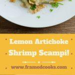 Lemon Artichoke Shrimp Scampi