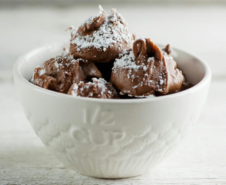 Easy Chocolate Peanut Butter Truffles