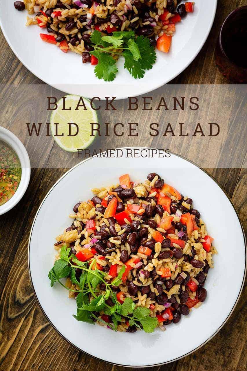 Black Beans Wild Rice Salad
