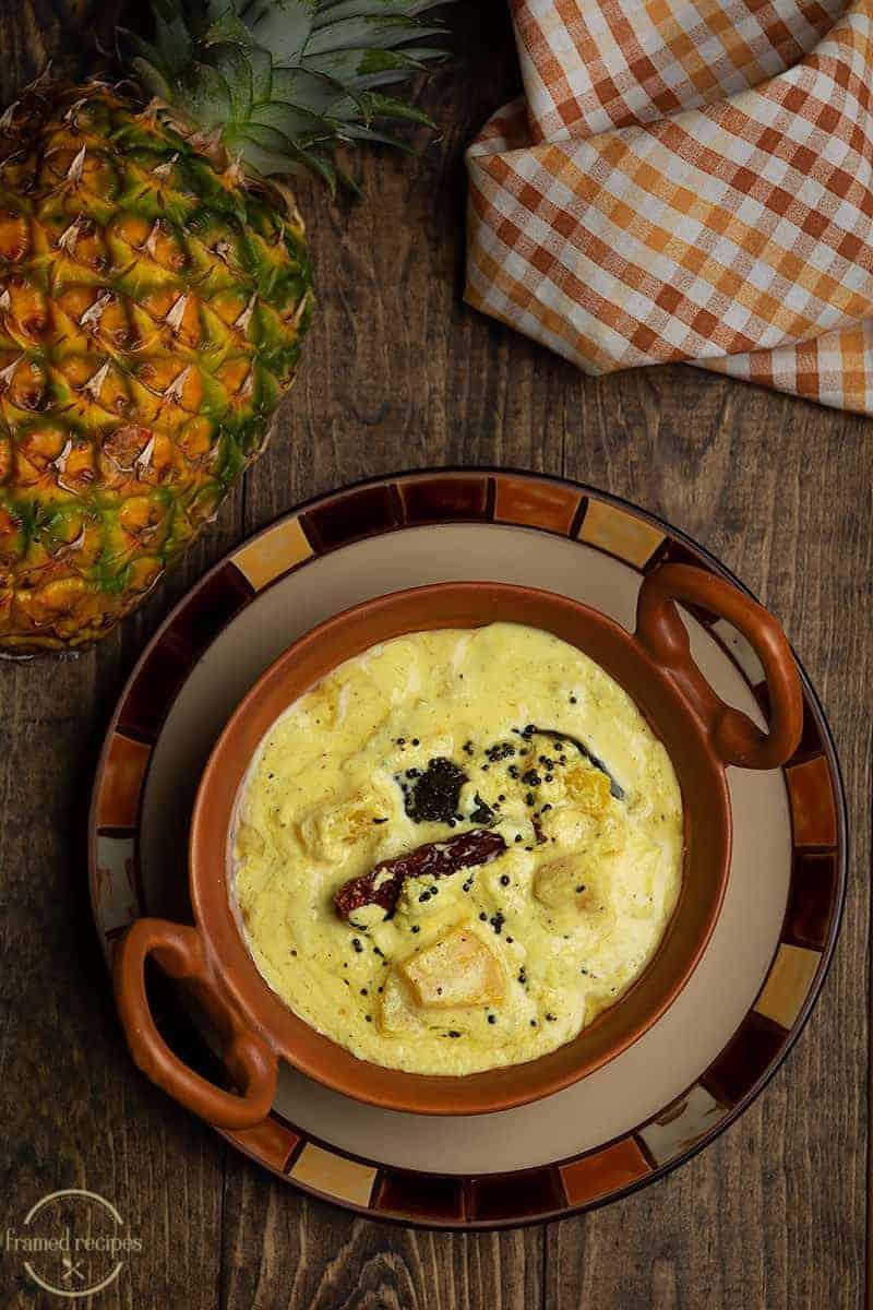 pineapple pachadi