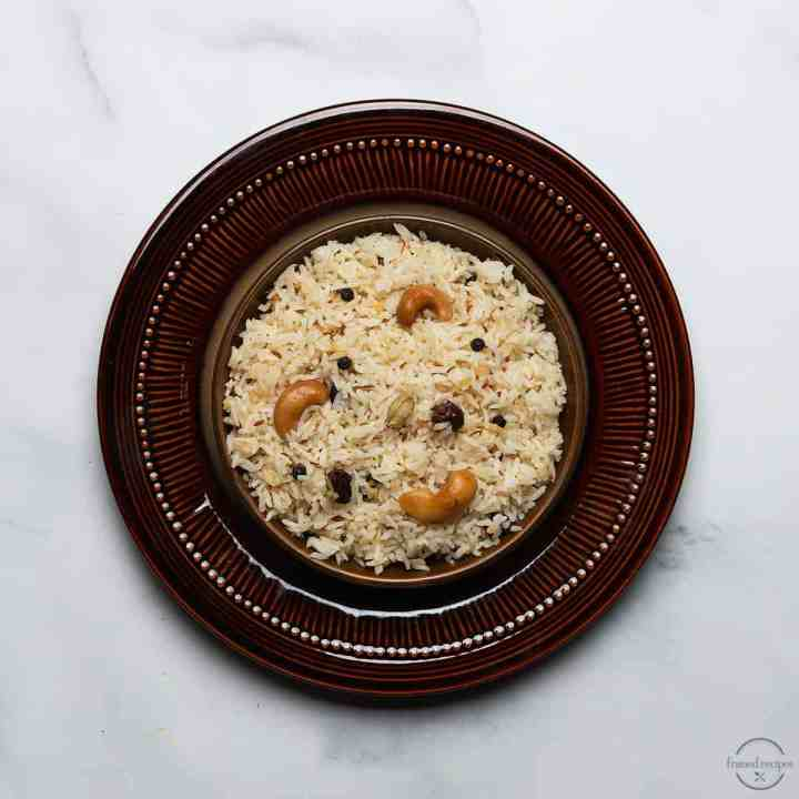 instant pot jeera rice