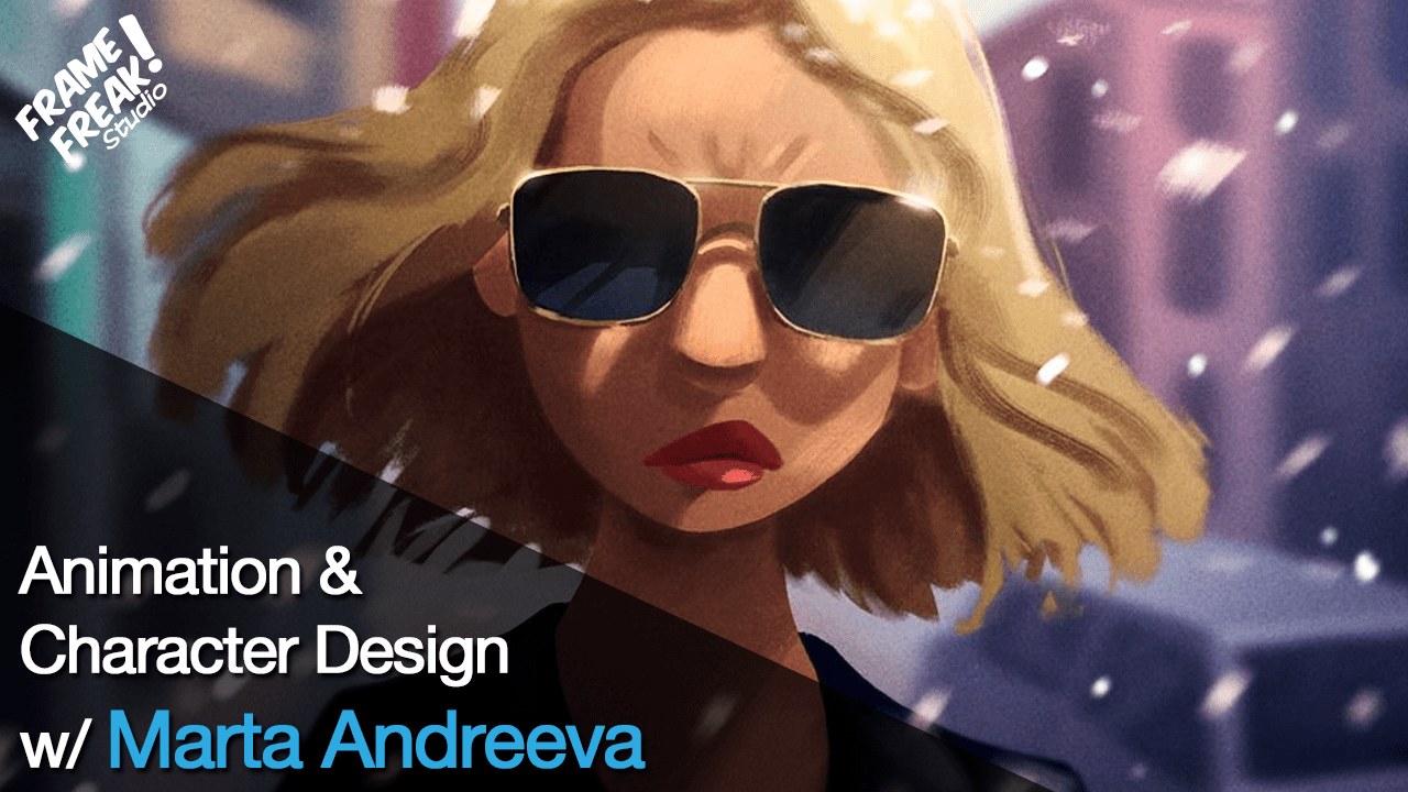 Interview with Marta Andreeva: Character Design & Animation