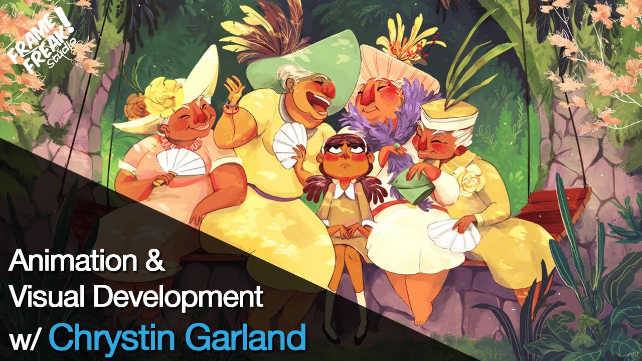 Interview with Chrystin Garland: Animator & Visual Developer