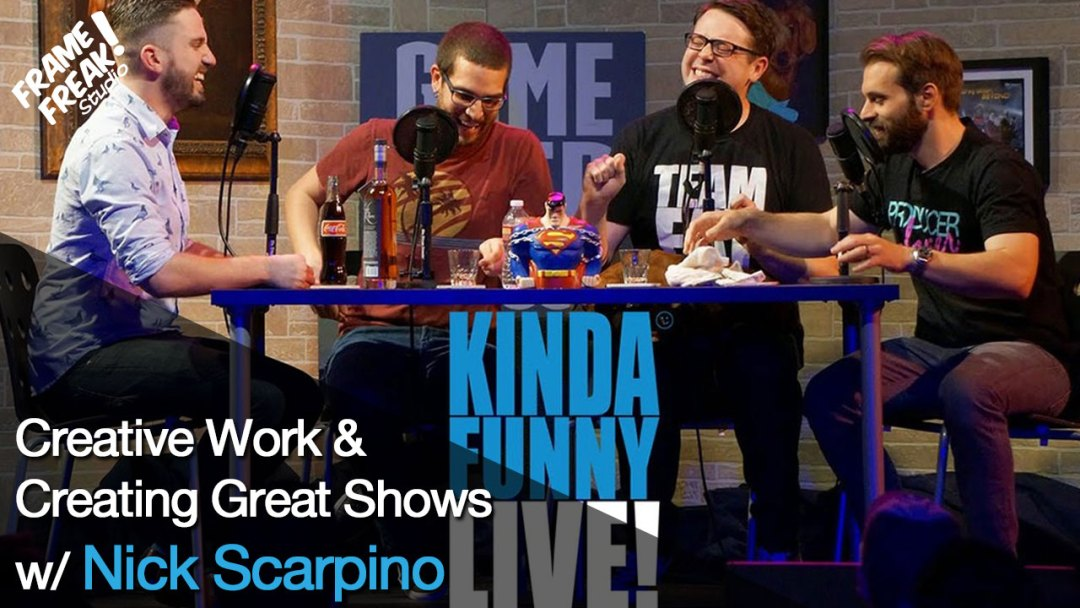 Interview with Nick Scarpino: Kinda Funny & Creative Work