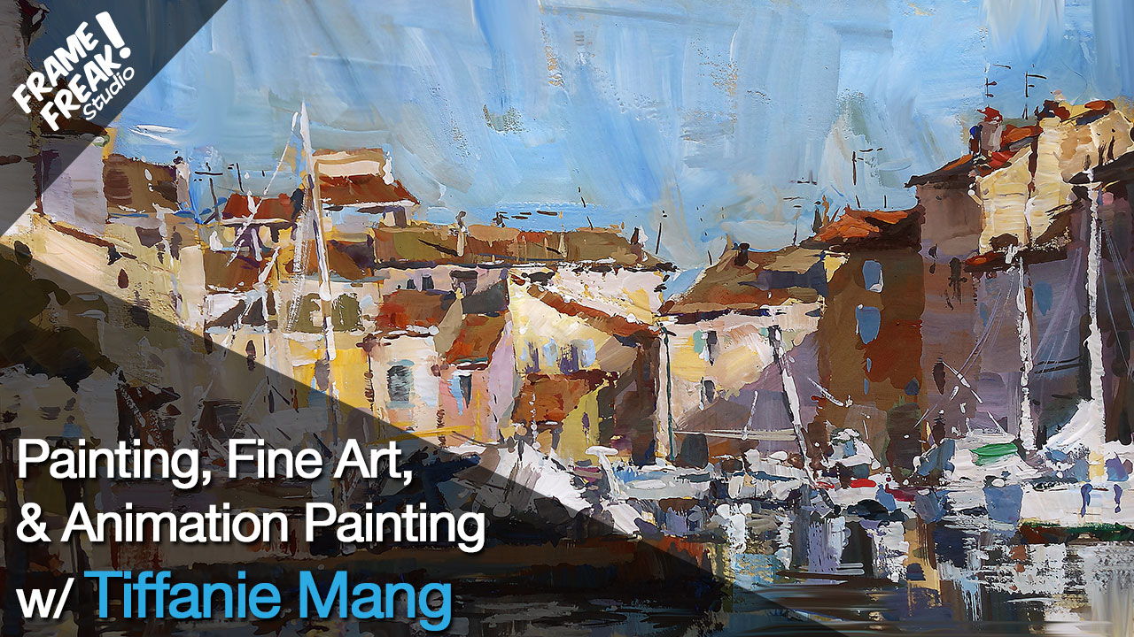 Interview with Tiffanie Mang: Loving Vincent Painter Animator