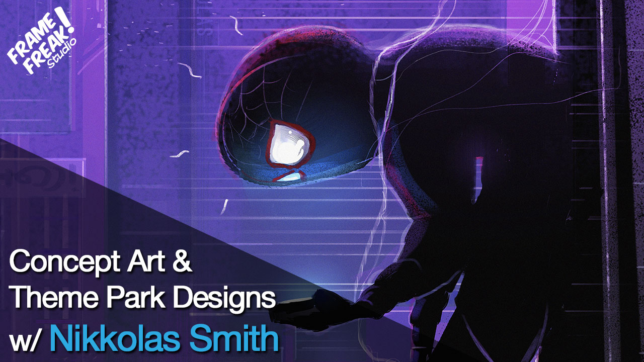 Interview with Nikkolas Smith: Theme Park Designer & Concept Artist