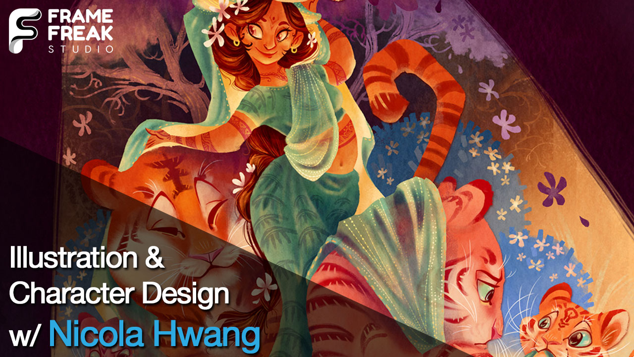 Interview with Nicola Hwang: Illustrator, Character Designer & Author