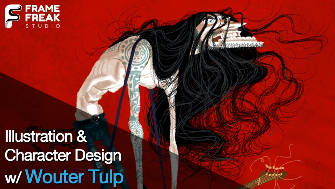 Interview with Wouter Tulp: Illustrator & Character Designer
