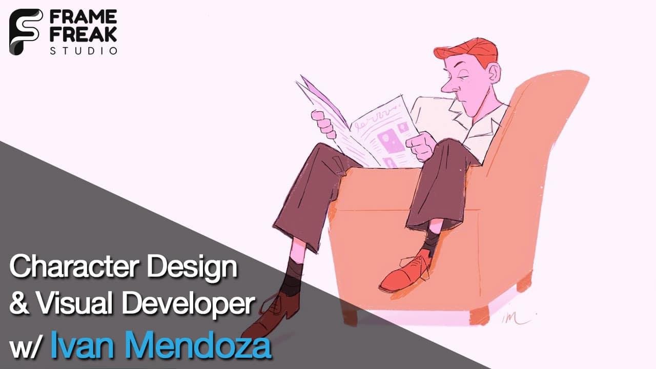 Interview with Ivan Mendoza: Character Designer & Visual Developer