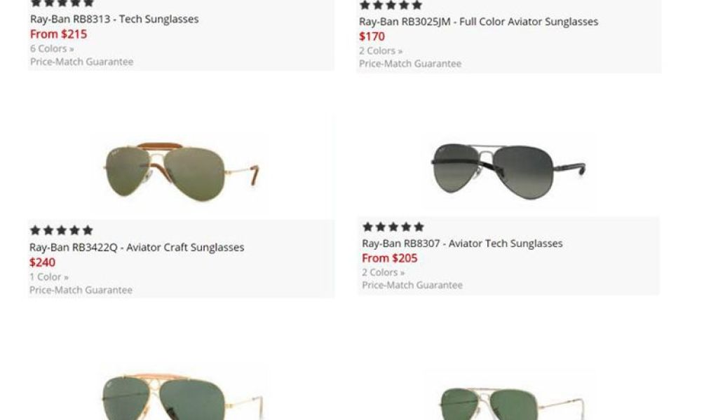 df0af8191931 Ray Ban Size Chart - Home of Fashions