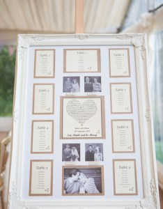Seating chart wedding frame photographed by charlotte razzell  also how to use picture frames make planning easier rh frameusa