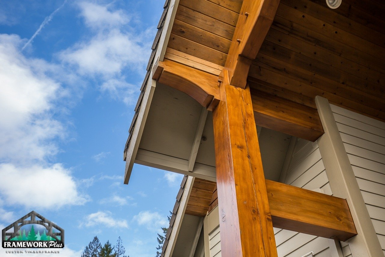 timber frame accents gallery frame