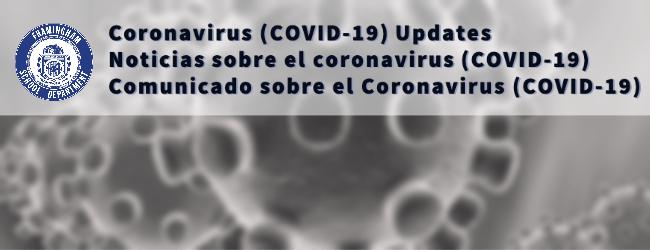Communications / Coronavirus (COVID-19) Updates