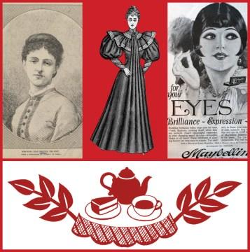 tea series collage