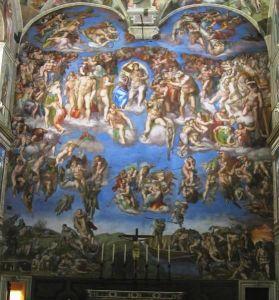 Michelangelo: Il Giudizio universale, Cappella Sistina