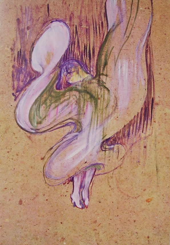 Toulouse-Lautrec: Loie Fuller alle Folies Bergère