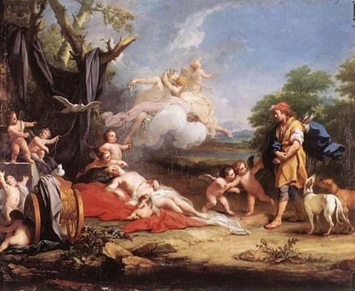 Venere e Adone, Gallerie dell'Accademia, Venezia