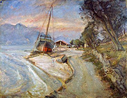 Veduta del Lago di Garda