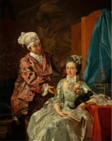 Autoritratto con la moglie