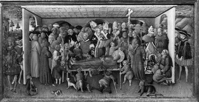 Il funerale di San Francesco di Assisi