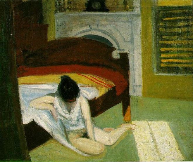 Edward Hopper: Summer Interior