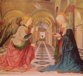Annunciazione: Maestro dell'Annunciazione, Museo Isabella Steward di Boston