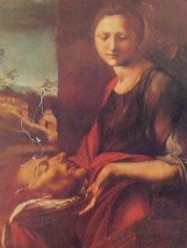 Salomè 1517, Alonso Berruguete, Uffizi Firenze